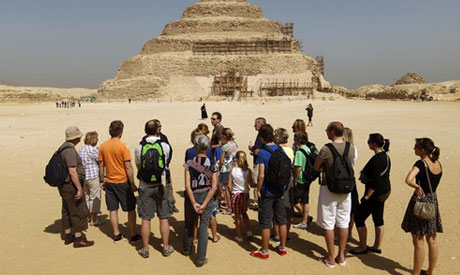 Guided tours to egypt.