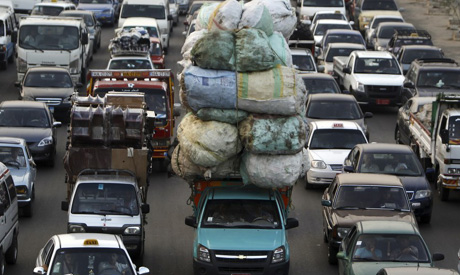 cairo traffic congestion