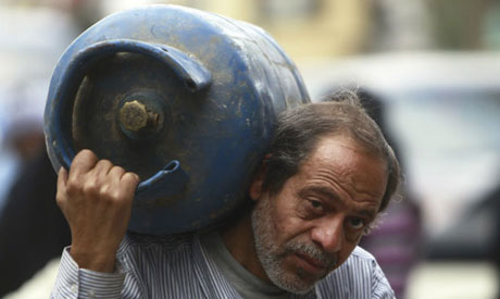Egypt cooking gas