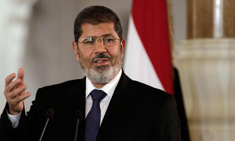 Egyptian President Mohammed Morsi (Photo: AP)