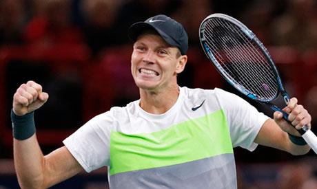 Tennis: Berdych, Simon reach Paris Masters quarters