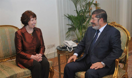 Morsi and Ashton