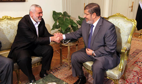 Morsi and Haniya