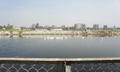 The disputed land on Quorsaya Island (Photo: Zeinab El Gundy)