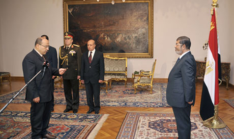 President Morsi sacks prosecutor-general