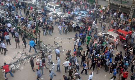 Protest in front of Egypt high court attacked by unknown assailants
