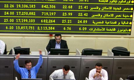 Egypt stocks slightly up despite Tahrir