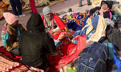 1.1 million Egyptians officially worked abroad in 2011