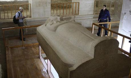 Merenptah sarcophagus: Reuters/Asma Waguih