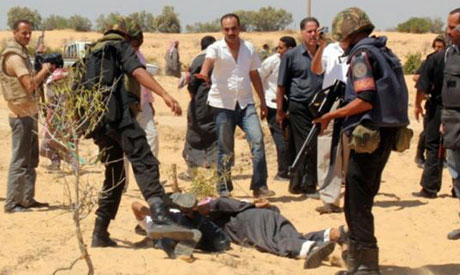 Three policemen killed in Al-Arish armed assault