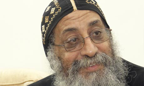 Bishop Tawadros, the new Coptic pope (Photo: AP)