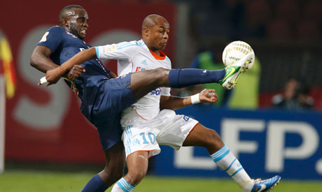 Ayew brothers on target as Marseille close gap on PSG