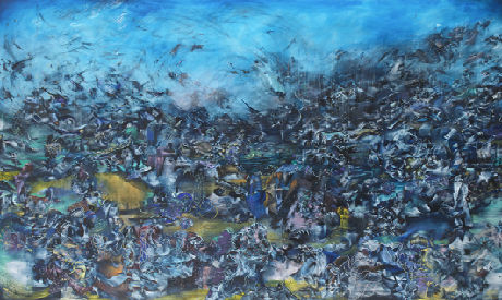 Ali Banisadr, We Haven't Landed On Earth Yet, 2012