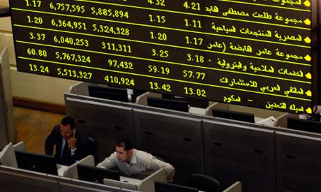 Egypt stocks see minor gains on Monday