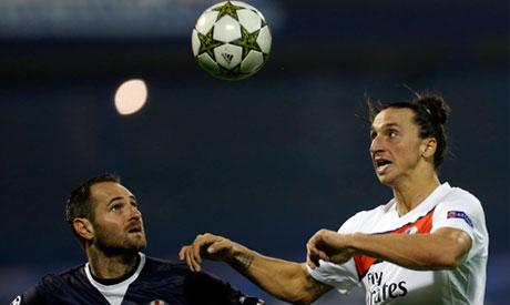 Dinamo Zagreb and PSG