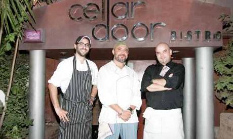 Chefs Wesam, Ayman and Moustafa