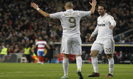Benzema and Higuain