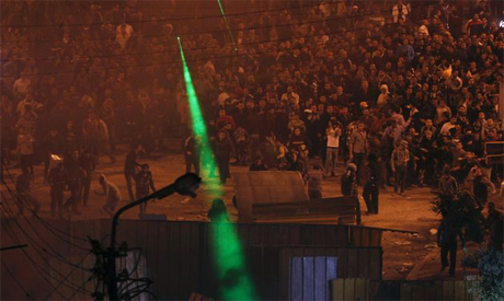 Presidential Palace Clashes