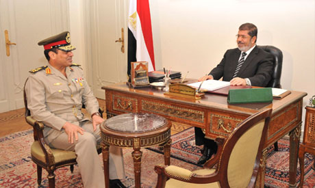 Morsi and al-Sisi