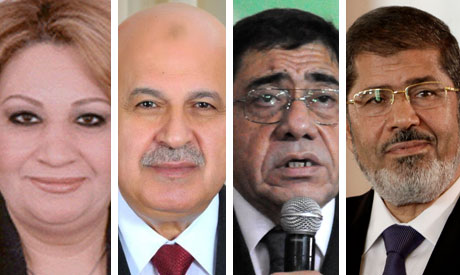 Tahany Elgebaly, Mahmoud Mekky , Abdel Meguid Mahmoud and Mohamed Morsi