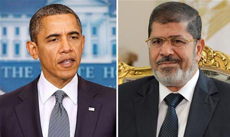 Obama and Morsi