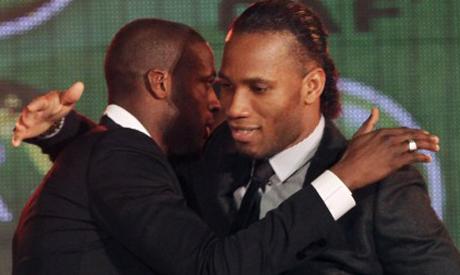Toure and Drogba