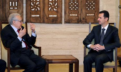 Assad and Brahimi
