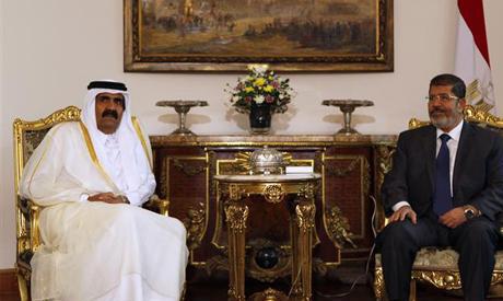 President Morsi and Prince Hamad