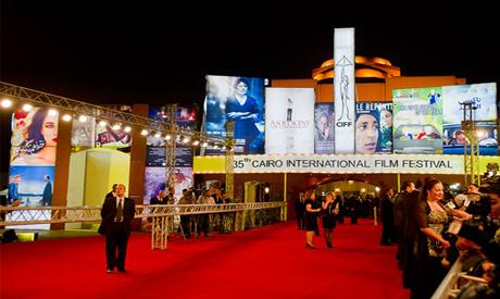 Cairo International Film Festival 2012 Opening Ceremonny, 28 November. Photo: Bassam Al-Zoghby