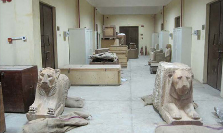 lions at the storage