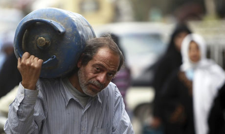 Egypt raises the price of subsidised gas cylinders