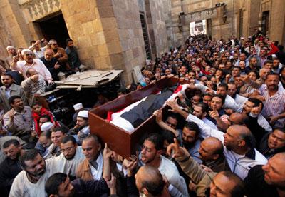Supporters of Egyptian President Mohamed Morsi
