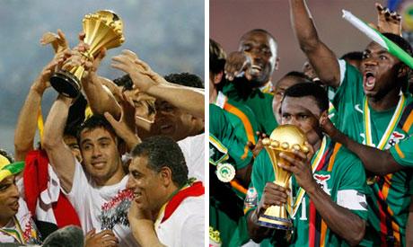Egypt and Zambia