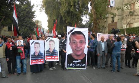 Ultras march (Photo: Sherif Tarek)