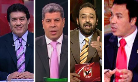 Medhat Shalaby, Ahmed Shoubir, Magdy Abdel Ghani and Ayman Younes
