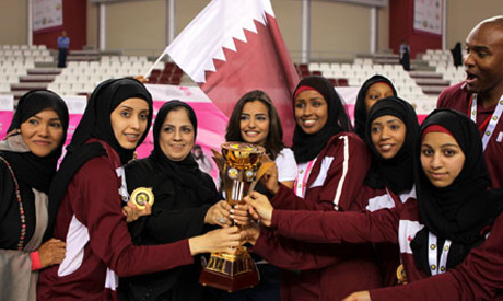 Qatar Women Olympic crew