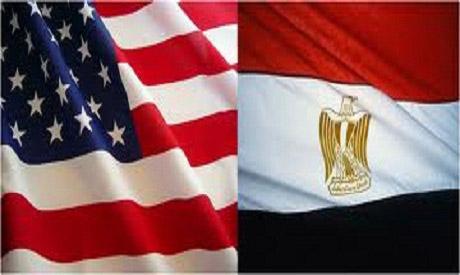 Egypt-US flags