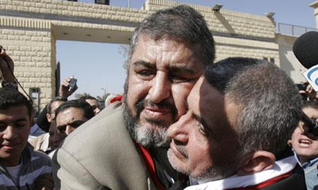 Khayrat el-Shater and Hassan Malek
