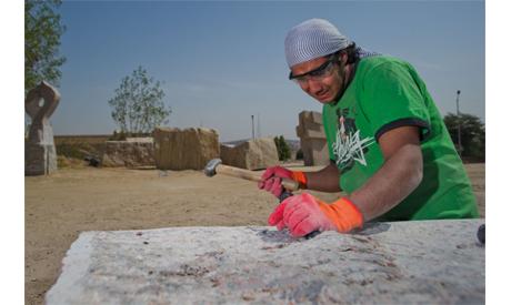 Alaa Abdel Hamid (Photo: Bassam Zoghby)