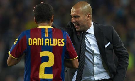 Dani Alves & Guardiola