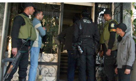Egypt military raids NGO