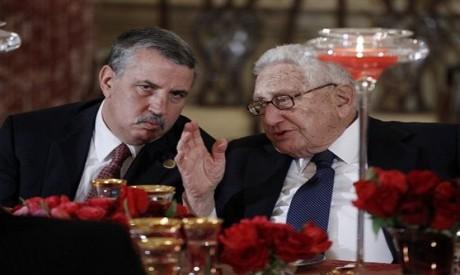 Thomas Friedman and Henry Kissinger