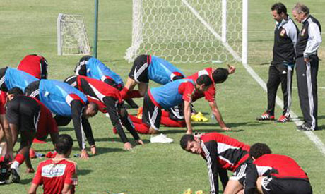 Ahly camp in UAE