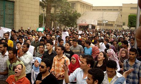 students of Cairo university
