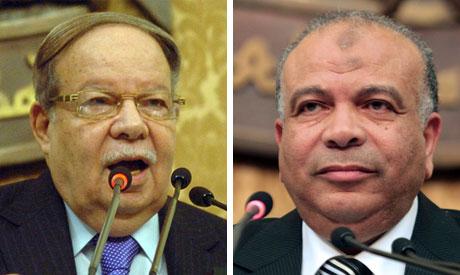 Fathy Srour and Saad el-Katatny