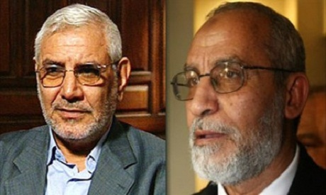 Abu El Fatouh and Mohamed Badie , Supreme guide of MB