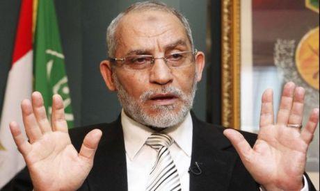 Egypt`s Muslim Brotherhood leader Mohamed Badie (Photo by: Reuters)