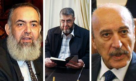Egypt presidency candidates