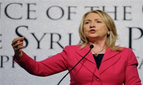 """Hillary Clinton in Istanbul speaking in """"Friends of Syria"""" meeting"""