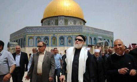 Ali Gomaa in Jerusalem